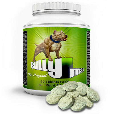 BULLY MAX MUSCLE BUILDER FOR DOGS 60 TABS / 60 DAY SUPPLY