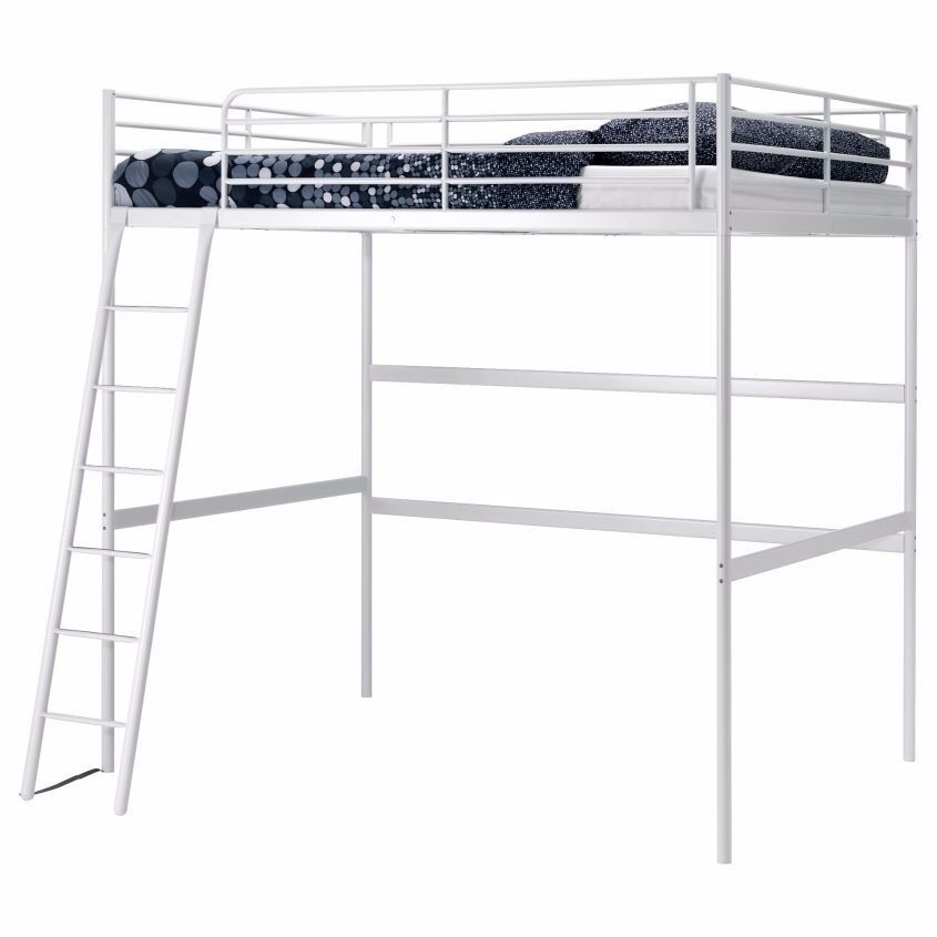Double Loft Bed Svarta Ikea In Kelvinbridge Glasgow Gumtree