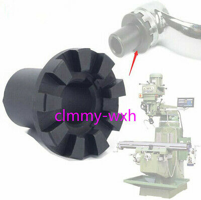 Milling Machine Part Black Gearshaft Nine Teeth Cluth Insert For Bridgeport Mill