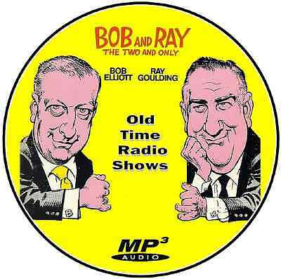 Bob and Ray –  587 episodes – Old Time Radio – Mp3 DVD CD