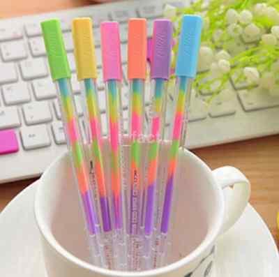 3pcs/lot Watercolor Chalk Paint Pen Gel Pen for Diary Scrapbooking Decoration