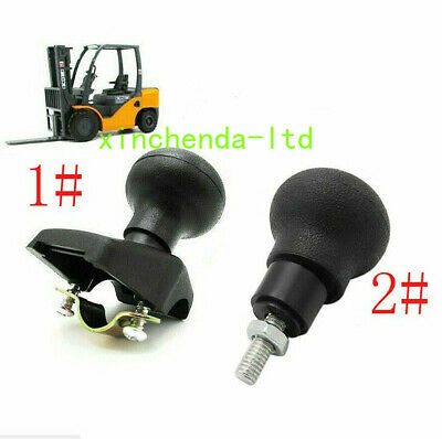 Forklift Steering Wheel Spinner Knob Turning Plastic Aid Ball Tractor For Heli