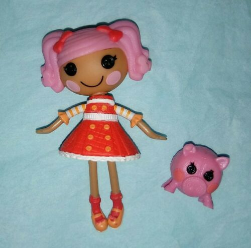 Pepper Pots N Pans Mini Chef Lalaloopsy Doll With Pet Pig - $2.49