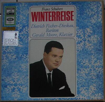 """2er-Box SCHUBERT """"Winterreise"""" - FISCHER-Dieskau - MOORE - stereo"""