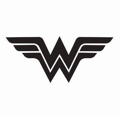 Wonder Woman Superhero Vinyl Die Cut Car Decal Sticker - FREE SHIPPING