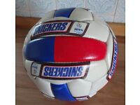 Football, Euro 96 No. 5 All-weather laminated Snickers football