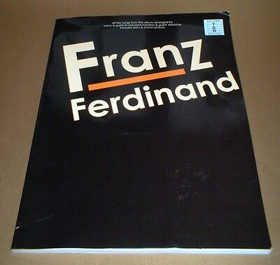 FRANZ FERDINAND -  2004 guitar TAB edition & vocals 11 numbers