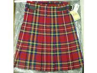 Kilt - Brand New - Royal Stewart tartan