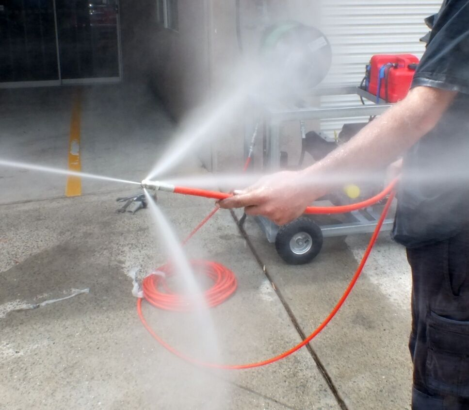 Drain Cleaning Italian Jetter 1 4 Quot Whip Hose 5000psi