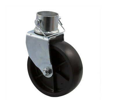 6 Inch Trailer Jack Swivel Caster Wheel With Pin Boat Hitch 1200lbs