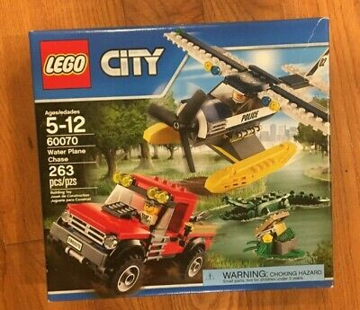 Lego City Water Plane Chase Set 60070 Mint Condition and Factory Sealed.