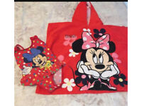 Swim suit and towel bundle 2-3 years (6 items)