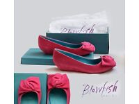 Pink shoes - new