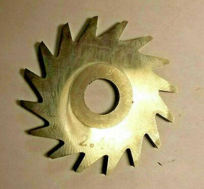 Solid Carbide Slotting Slitting Jeweler Blade Saw 35mm X 2.40mm X 8mm Bore Mill