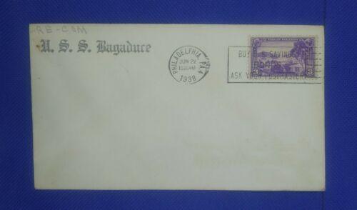 USS Bagaduce 1938 Philadelphia Postmark - $4.99