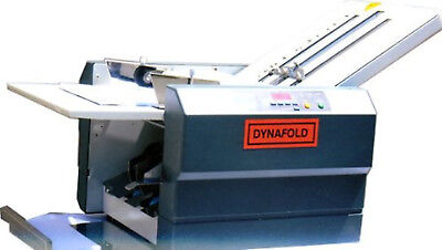 Dynafold De-42fc Paper Folder Folding Machine Heavy Glossy Paper Folding