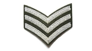 US-MILITARY-SERGEANT-STRIPE-BADGE-SEW-ON-WW2-ARMY-PATCH