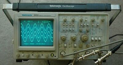 Tektronix 2465 300 Mhz Oscilloscope Calibrated Sn B052812