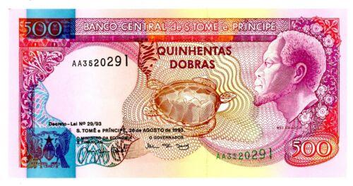 Saint Thomas & Prince ... P-63 ... 500 Dobras ... 1993 ... CH *UNC*