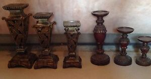 Vases and candle holders  London Ontario image 2