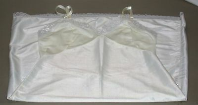 """Kayser Ladies Lace Trimmed Full Slip ~ White ~ Size 34 Hips 38"""" Length 40"""" for sale  Shipping to Canada"""
