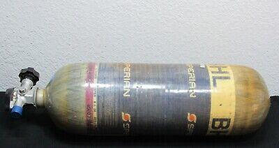 Survivair Sperian 45 Min 4500 Psig Luxfer Bhl Scba Carbon Tank Cylinder 2008