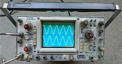 Tektronix 475 200mhz Oscilloscope Calibrated Nice Condition Sn B269604