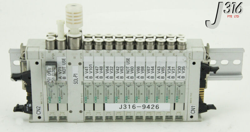 9426 CKD 2 SLOTS VALVE MANF, N4E0-Q-C, N4E0-T51R, N4E0-T53, N4E030-M N3E0660-M