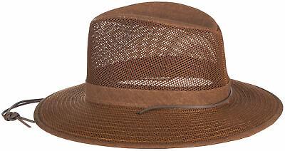 Brown Aussie Breezer Mesh Hat