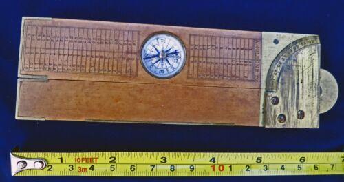 **SCARCE Victorian  Level Compass Clinometer Instrument Gadget