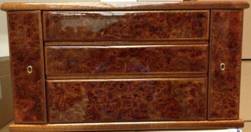 FABERGÉ Maple Burlwood Storage Flatware Chest