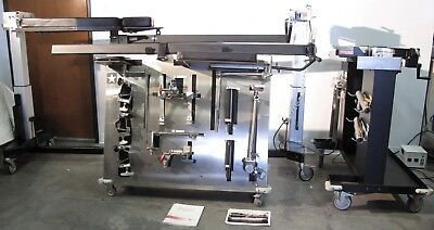 Mizuho Osi Jackson 5890 Modular Spinal Table With Accessory Cart Traction Cart