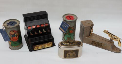 Rare Vintage Collectible Coin Banks
