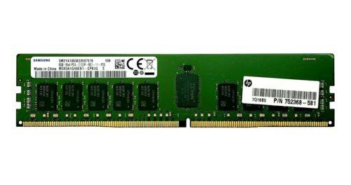 HP 752368-581 8GB 1Rx4 PC4-2133P ECC REG SERVER MEMORY M393A1G40EB1-CPB3Q