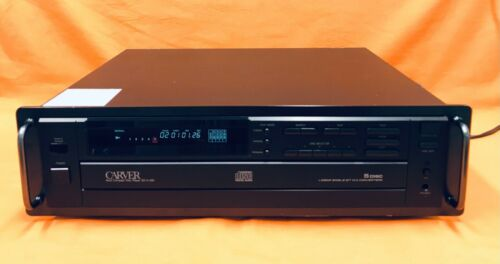 Vintage Carver SD/A-350 CD player 5 Disc Changer