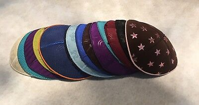 LOT Of 25 Leather Kippah Yarmulke