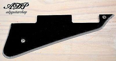 Les Paul Style Guitar - Plaque Pickguard pour guitare style Gibson Les Paul Noir Black 5ply Humbuckers