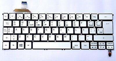 New and original Acer Aspire S7-392 S7-393 spanish keyboard teclado español