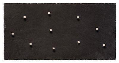 Echter Stein Schiefer Magnettafel in 60 cm 30 cm Massivstein Pinnwand Kreide