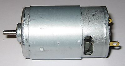 12 Vdc High Speed Hobby Motor Generator - 75 Watt - 550 Frame - 17000 Rpm