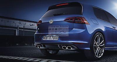Original VW Golf 7 R LED Heckleuchten abgedunkelt Set,Rücklicht,Schlussleuchten