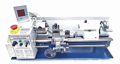 Mini Lathe - Brand New 7x14 Machine Now With 2-axis Dro 4 Chuck