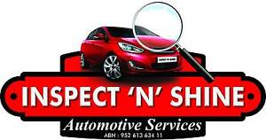 inspect'n'shine Automotive services Butler Wanneroo Area Preview