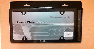 Audi ZAW071801C License Plate Frame