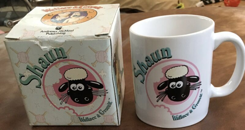 Shaun the Sheep 1989 Mug NIB