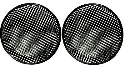 12 INCH SUBWOOFER SPEAKER COVERS WAFFLE MESH GRILL GRILLE PROTECT GUARD 2 Pair 12 Inch Speaker Grill
