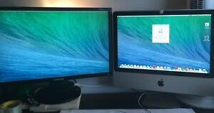 "20 imac early 2008 c/w  24"" samsung monito"