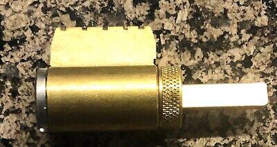 Lock Cylinder With 2 Schlage Keys