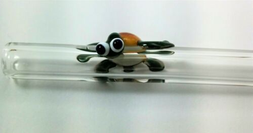 Single Turtle Glass Drinking Straw - Hand Blown - Made in Colo by Thestrazspot