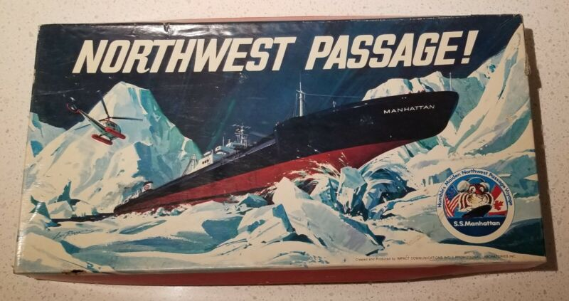 Rare 1969 Northwest Passage Humble Oil Alaskan Oil Fields Promotional Game